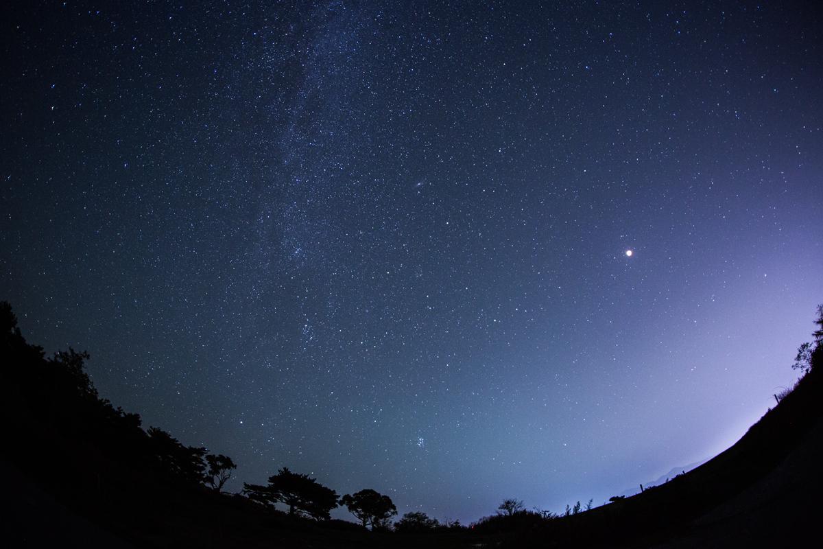 満月の夜に天の川を楽しむ_a0087133_1212045.jpg