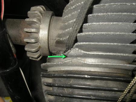 BMW Rタイプ 腰上の分解_e0218639_11182770.jpg