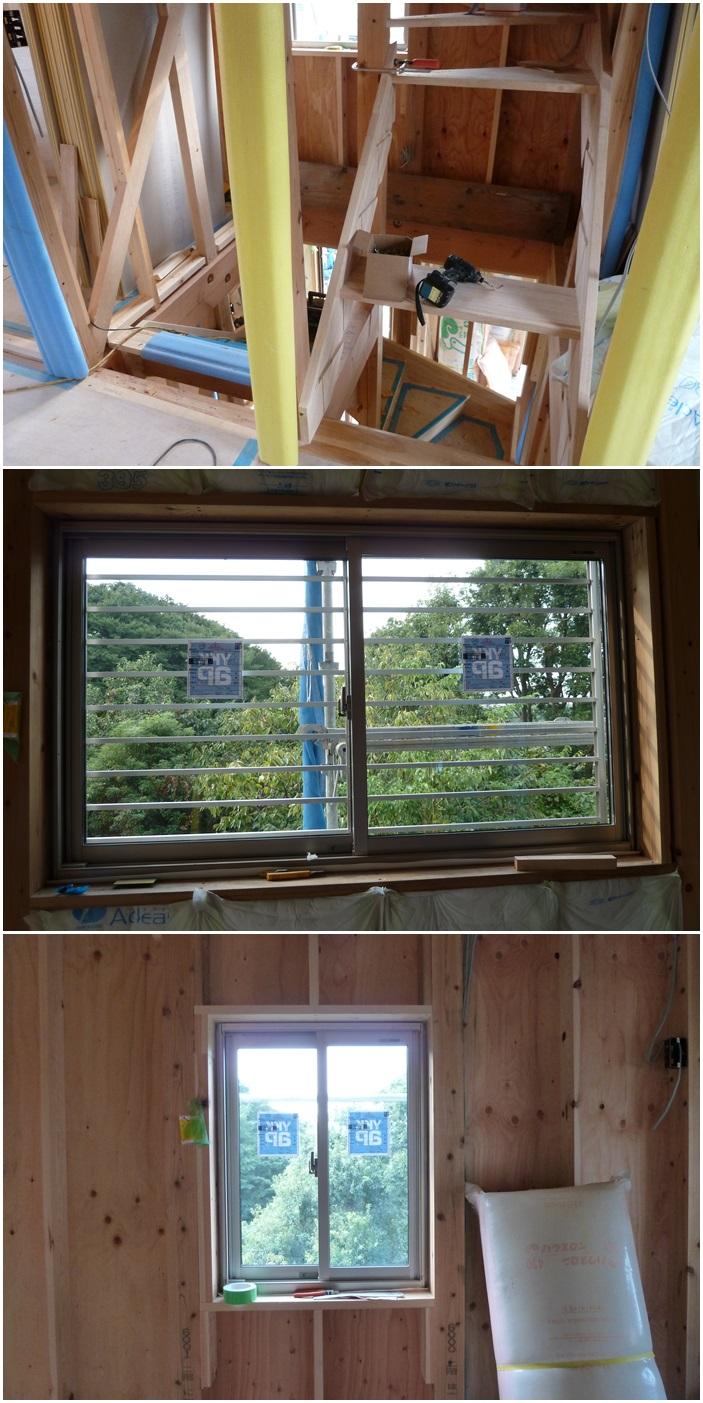 横浜市泉区新橋の家☆階段がつきました_c0152341_031322.jpg
