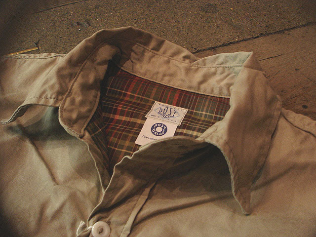 """NEW : POST O\'ALLS [C-POST 7] \""""french twill x cotton flannel\"""" !!_a0132147_22183770.jpg"""