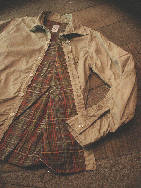 """NEW : POST O\'ALLS [C-POST 7] \""""french twill x cotton flannel\"""" !!_a0132147_22192518.jpg"""