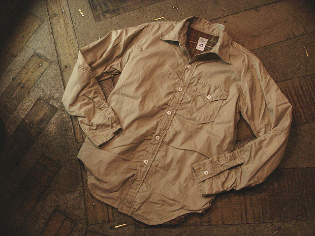 """NEW : POST O\'ALLS [C-POST 7] \""""french twill x cotton flannel\"""" !!_a0132147_2219476.jpg"""