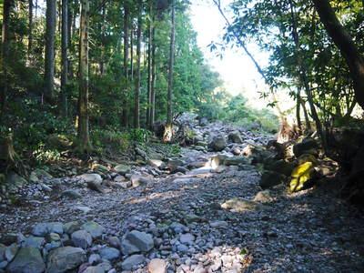 リューバ―ダムが・・・。山奥の川はこの時期干上がっています!_a0254656_1837976.jpg
