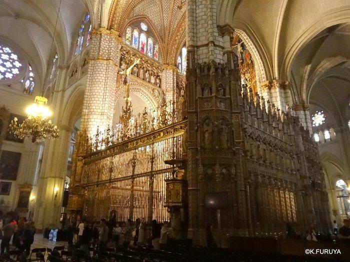 スペイン旅行記 8 トレド その2  カテドラル_a0092659_063846.jpg
