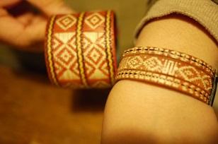 「南米・コロンビア製の編みバングル」を買いつけていました~_f0226293_859725.jpg