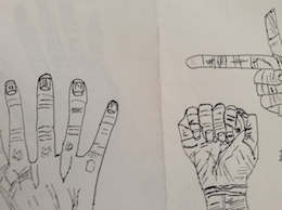 図工授業Q1〜人物描写の仕方②_c0052304_15455654.jpg