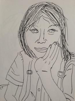 図工授業Q1〜人物描写の仕方②_c0052304_15455865.jpg