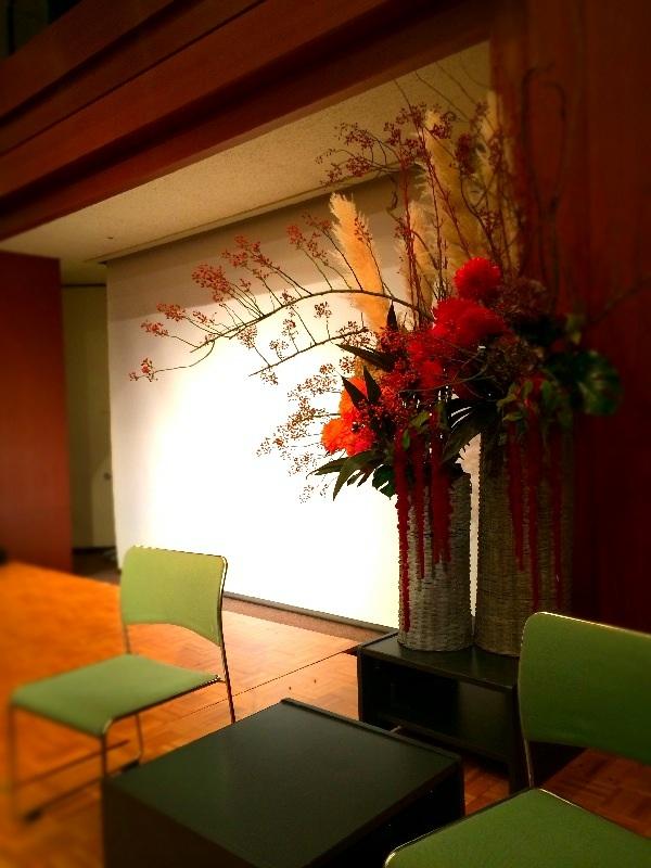 秋の花活け_a0060141_14453263.jpg