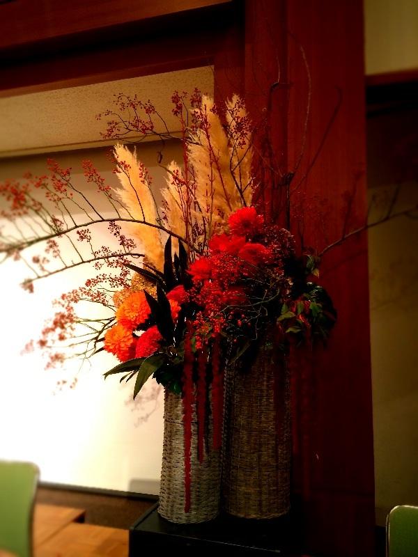 秋の花活け_a0060141_14453266.jpg
