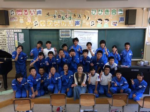 小学校アウトリーチめぐり@美浜_a0271541_1945298.jpg