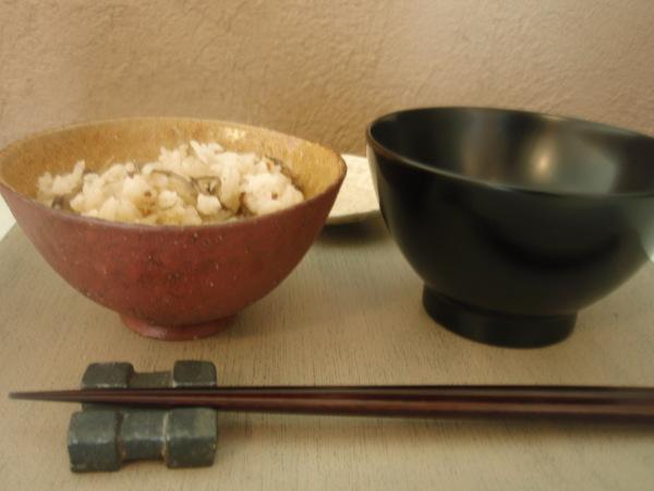 井内素さんの飯碗と焼酎カップ_b0132442_15415970.jpg