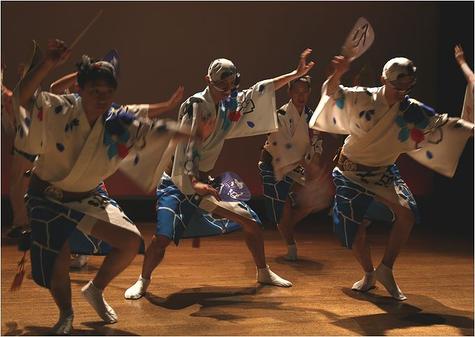 阿波踊り 男踊り_a0256349_23103117.jpg