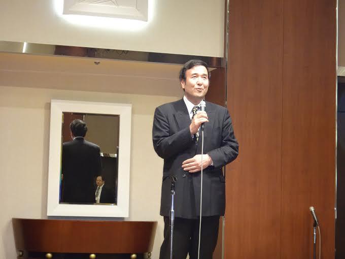 憲法学会懇親会での佐藤薫先生のスピーチ_e0091580_11505325.jpg