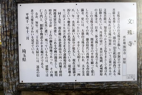 ご近所巡礼4番 五台山文殊寺・・「知恵のお寺」_b0018682_0234095.jpg