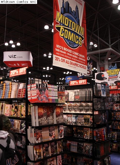 NYコミコン、出版社や大手書店のエリアにも日本の影響_b0007805_22572516.jpg