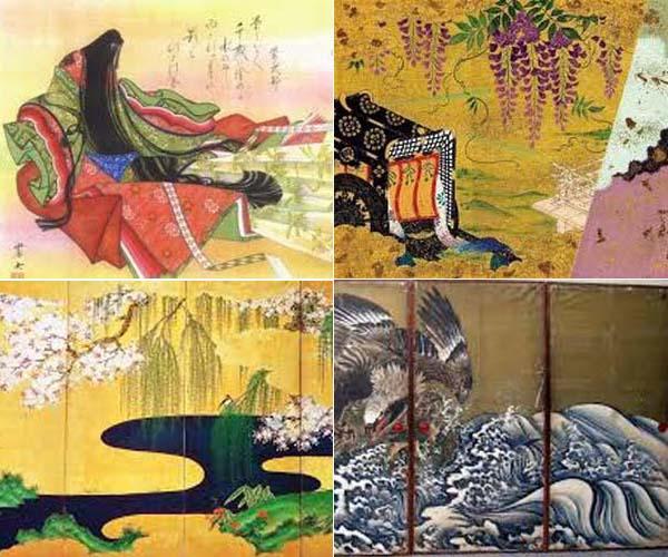 京楽焼鉢「一柳と楽徳」                 No.1442_d0103457_9154874.jpg