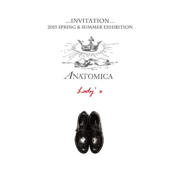 """2015 SPRING & SUMMER EXHIBITION ANATOMICA LADY\'S\""ってこんなこと。_c0140560_10315168.jpg"