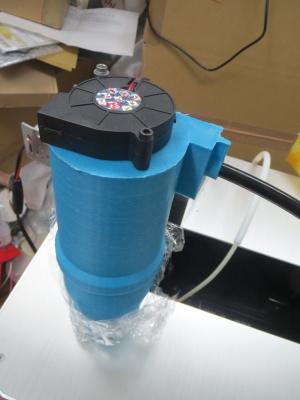 サイクロンタイプの集塵機試作_a0027275_2222959.jpg