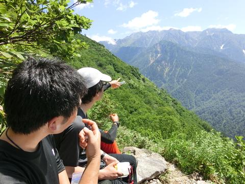 7月山行 笠ヶ岳_d0237801_12444752.jpg
