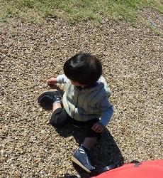 靭公園で_a0177314_1904418.jpg