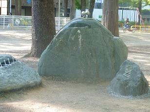 靭公園で_a0177314_197403.jpg