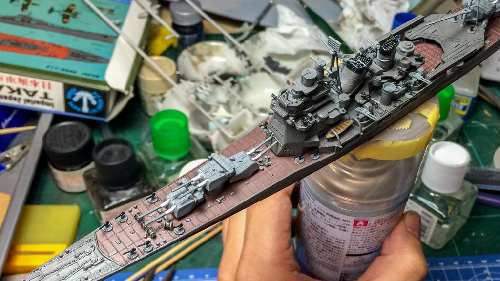 艦船模型をたった2日で完成させる3つのルールを教えます_b0029315_22442533.jpg