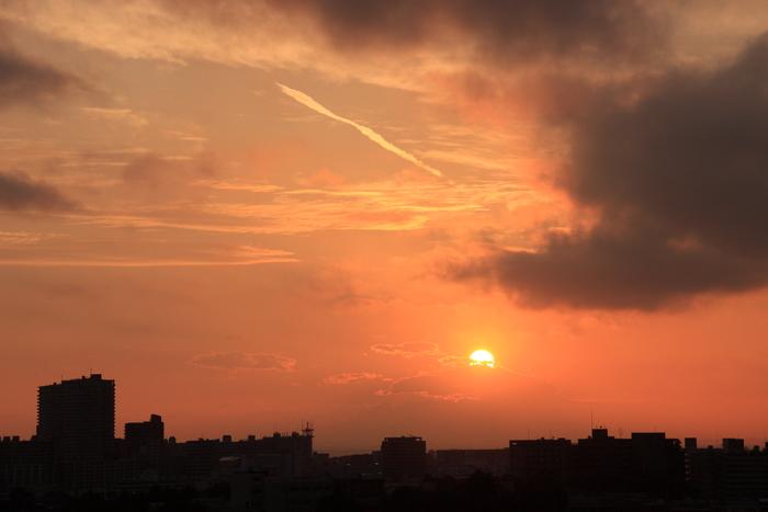 夕 陽_b0268615_18243545.jpg