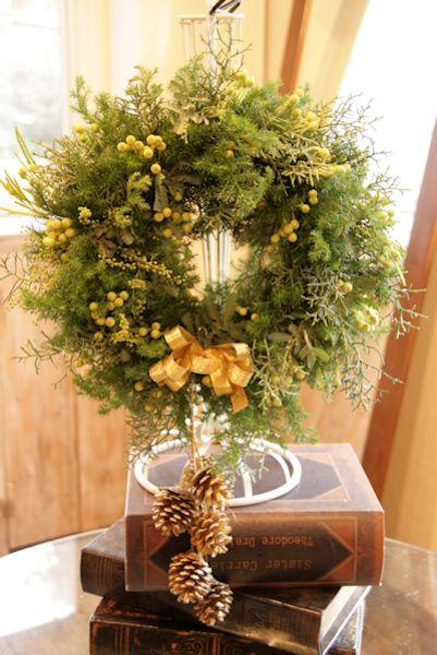 クリスマスリース1Day Lesson_d0086634_13000662.jpg