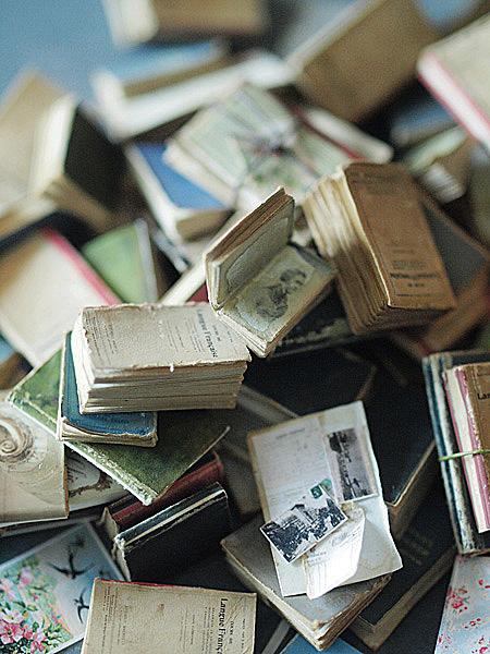 miniature* 洋書 と、休日_e0172847_14321482.jpg