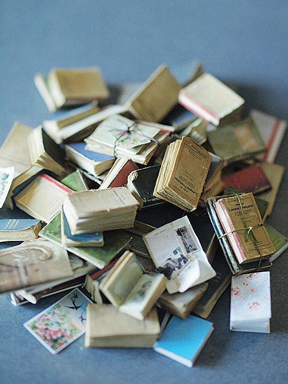 miniature* 洋書 と、休日_e0172847_14344227.jpg