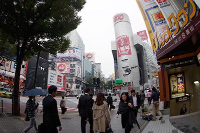 10月21日(火)の渋谷109前交差点_b0056983_11274626.jpg