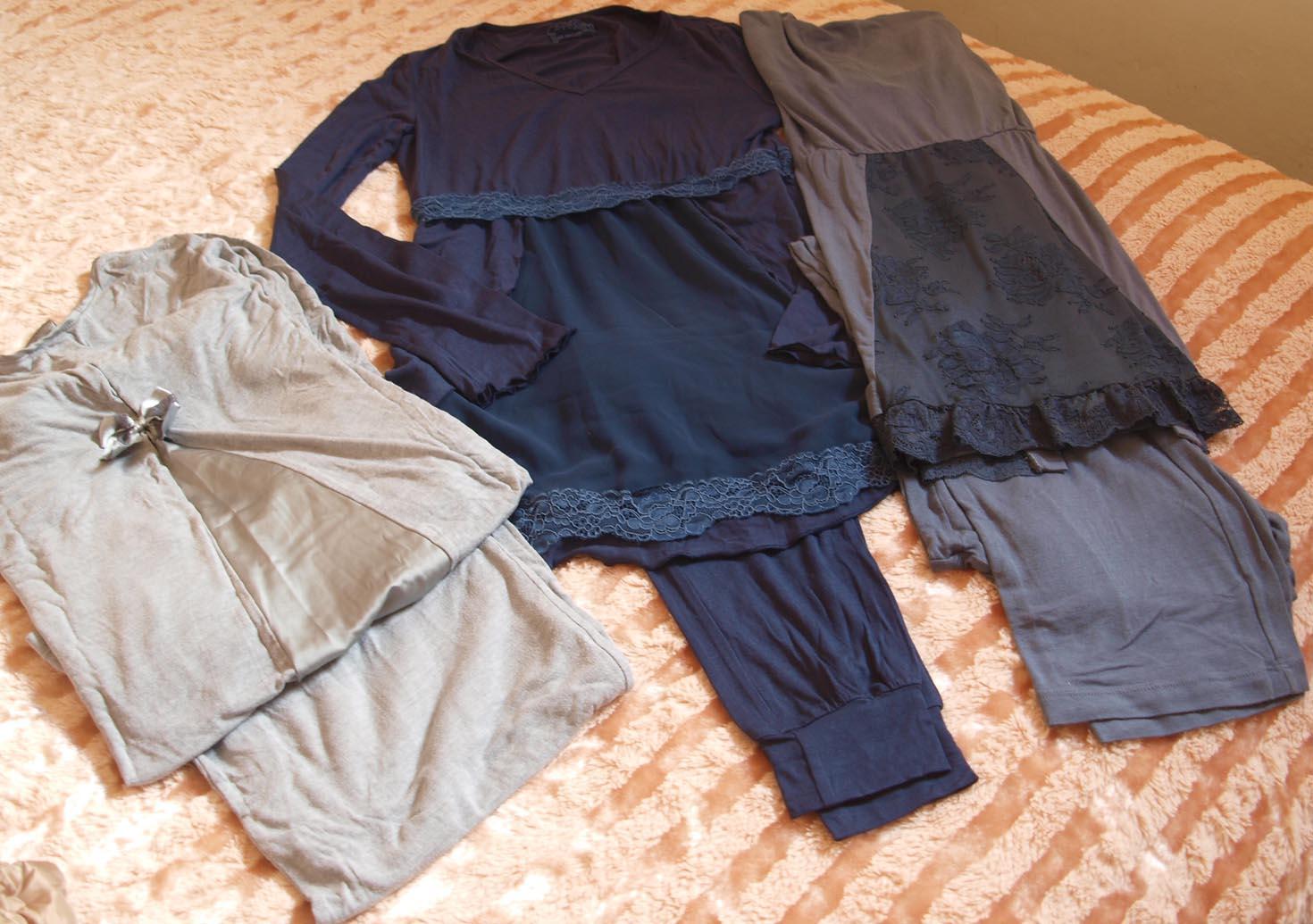 私の密かな贅沢はここのパジャマでベットに入る事_c0179785_562139.jpg