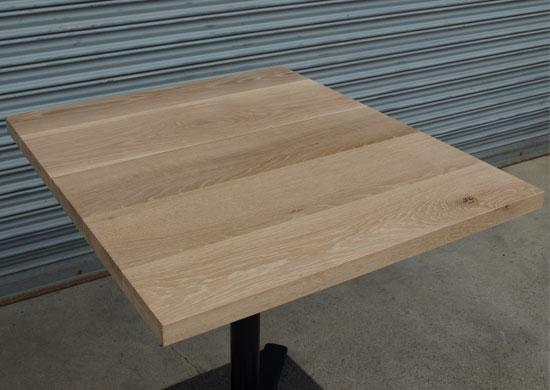 カフェテーブル、ホワイトオーク_e0115686_15112810.jpg