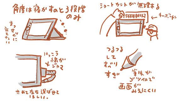 ワコムの液晶タブレット13HD購入 使ってみて編_e0022403_14192786.jpg