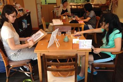 【活動レポート】2014年8月31日 デッサンミニレッスン_f0224207_12002668.jpg
