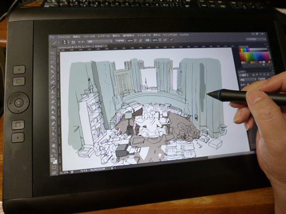 ワコムの液晶タブレット13HD購入 仕事の絵を描く編_e0022403_1355439.jpg