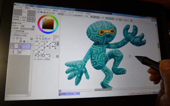 ワコムの液晶タブレット13HD購入 仕事の絵を描く編_e0022403_14124457.jpg