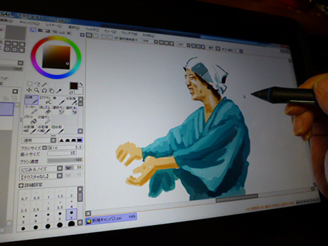 ワコムの液晶タブレット13HD購入 仕事の絵を描く編_e0022403_1422845.jpg
