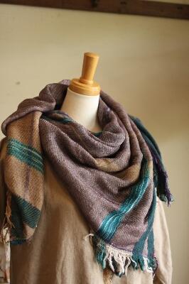 tamaki niime roots shawl square_c0118809_16205758.jpg