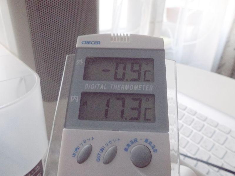 我が家ではこの秋初めての零下を確認_c0025115_1916529.jpg