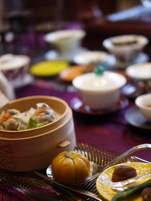 中国茶五種のみ比べのお客さまをお迎えしました♪_a0169924_19554280.jpg