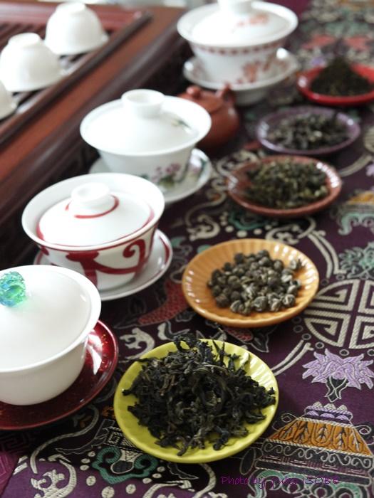 中国茶五種のみ比べのお客さまをお迎えしました♪_a0169924_207635.jpg