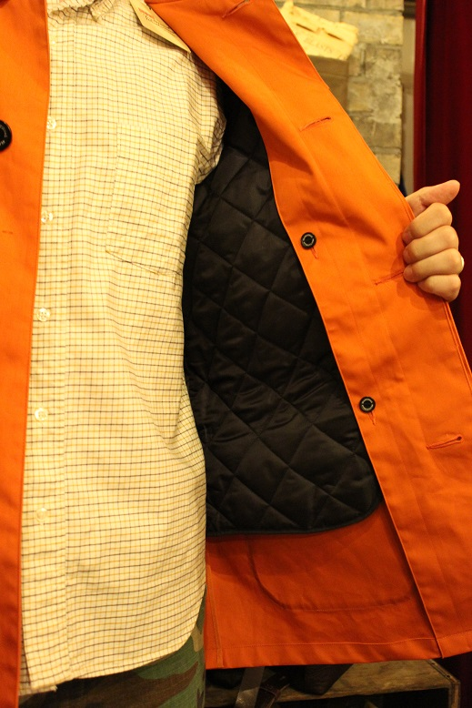 "英国生まれ ""Traditional Weather Wear\"" CORBY ご紹介_f0191324_9482470.jpg"