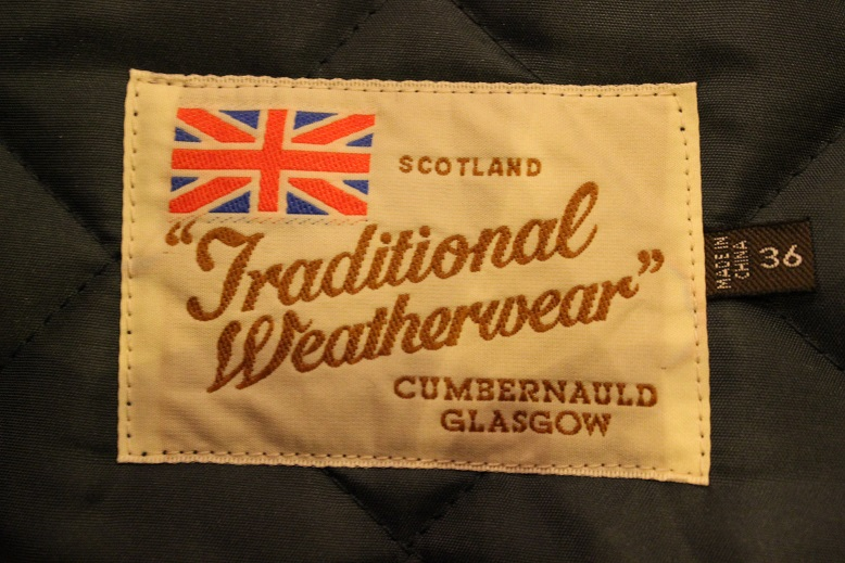 "英国生まれ ""Traditional Weather Wear\"" CORBY ご紹介_f0191324_9494730.jpg"