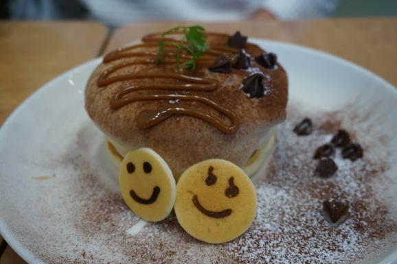 ニコチャンマークのパンケーキ デイズ_c0223630_1825557.jpg