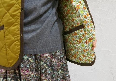 ルミノアからリバーシブルキルティングジャケットです。_c0227633_20302397.jpg