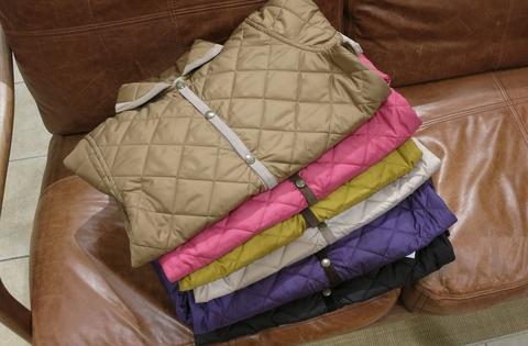 ルミノアからリバーシブルキルティングジャケットです。_c0227633_20304794.jpg