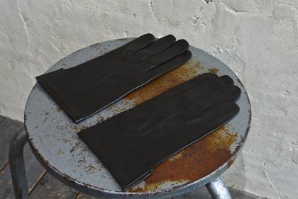 Italian army officer leather gloves dead stock_f0226051_11215611.jpg