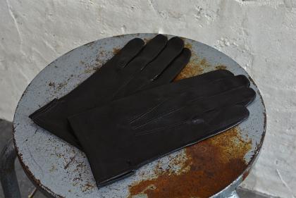 Italian army officer leather gloves dead stock_f0226051_11221144.jpg