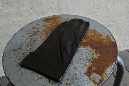 Italian army officer leather gloves dead stock_f0226051_11222785.jpg